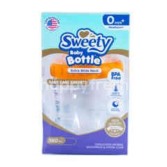 Sweety Botol Bayi Wide Neck Warna Orange