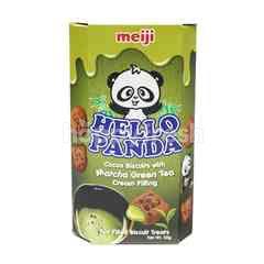 Meiji Hello Panda Cocoa Biscuit