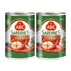 ABC Chili Sauce Sardines Twinpack