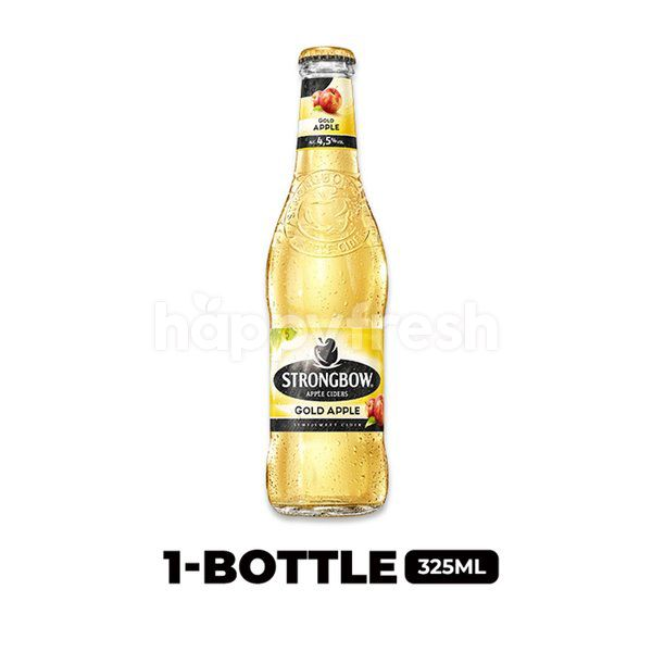 Strongbow Apple Ciders Gold Apple Bottle 330ml