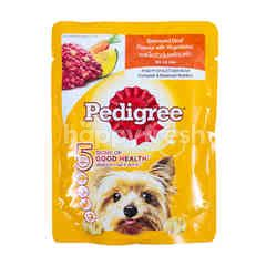 Pedigree Simmered Beef Flavor with Vegetables