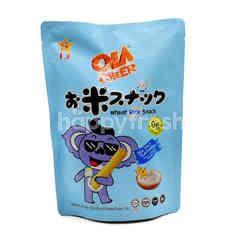 Ola Cheer Sea Salt Flavoured Wheat Rice Snack (6 Pieces)