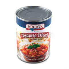 Brook Tomato Diced In Tomato Juice