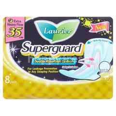 Laurier Superguard Double Absorbent Cushion 35cm (8 Pads)