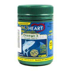 OM3 Heart Minyak Ikan Alami Kapsul Mini