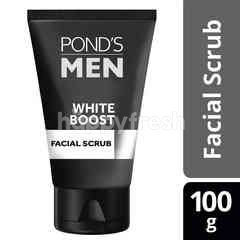 Pond's Men Facial Scrub White Boost