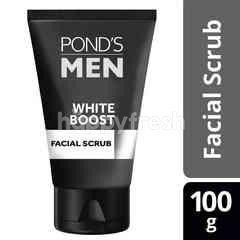 Pond's Men Facial Scrub White Boost