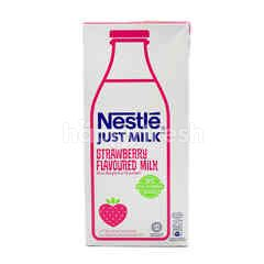 Just Milk Strawberry Flavoured Milk