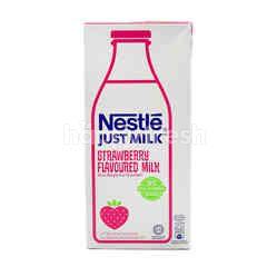 Just Milk Strawberry Flavoured Milk