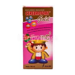 Cerebrofort Food Supplement with Strawberry Flavor