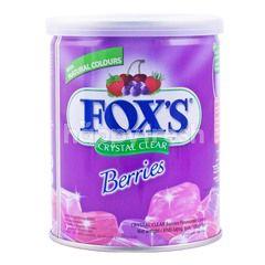 Fox's Permen Kristal Bening Rasa Beri