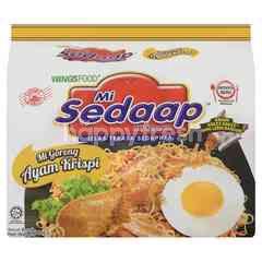 Mie Sedaap Mi Sedap Crispy Chicken Flavour Noodle
