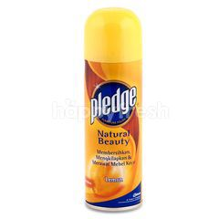Pledge Natural Beauty Furniture Polish Lemon