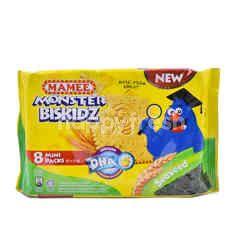 Mamee's Monster Biskidz (8 Mini Packs)