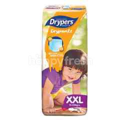Drypers Drypantz Mega Pack Diapers XXL36