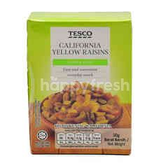 Tesco California Yellow Raisins