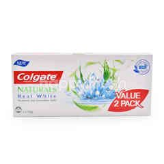 Colgate New Naturals Real White Toothpaste (2 Packs)