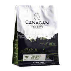 คานาแกน อาหารเม็ดสำหรับแมว สูตรฟรี-รัน ชิคเก้น 375 กรัม