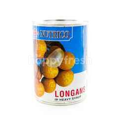 Nutrico Longan In Heavy Syrups