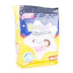 Baby Love Night Pants XL 38 Pcs