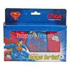 GT Kid Superman Boys Brief Size XL