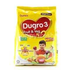 DUMEX Dugro 3 Fruit & Veg Formulated Milk Powder