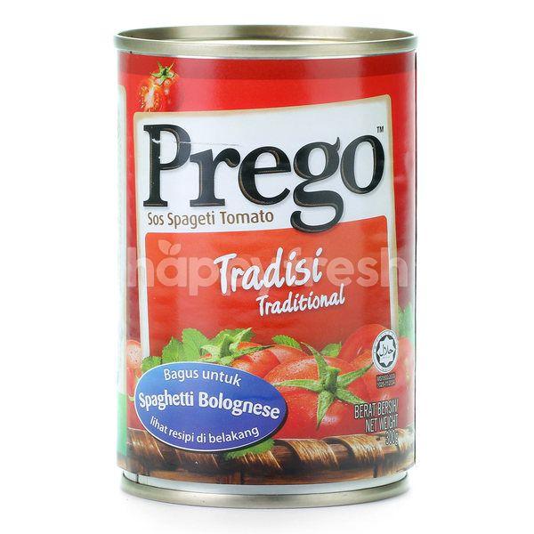 Prego Tomato Spaghetti Sauce Traditional