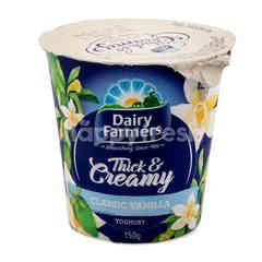 DAIRY FARMERS Thick & Creamy Classic Vanilla Yoghurt