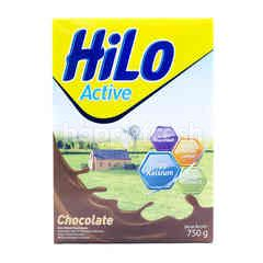 HiLo Active High Calcium Less Fat Powdered Chocolate Milk