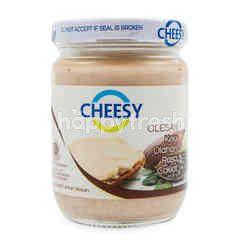 Cheesy Olesan Keju Cheddar Cokelat