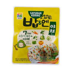 Chung Jung Won Vegetable Rice Sprinkles (3 Sachets)