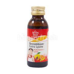 Seven Seas Becombion Extra Lysine Tutti Frutti Flavor