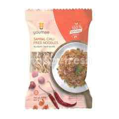 Youmee Sambal Chilli Fried Instant Noodle (4 Pieces)