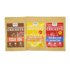 Ento Roasted Crickets - Taster Bundle