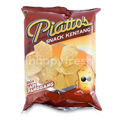 Jack 'n Jill Piattos Potato Chips Beef Roast