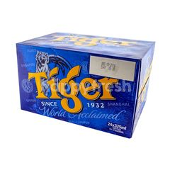 Tiger Lager Beer