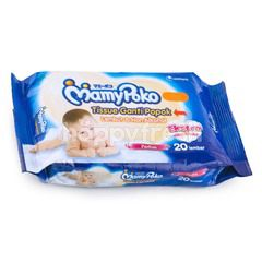 MamyPoko Baby Wipes Non Alcohol, Perfume, Extra Thick and Soft