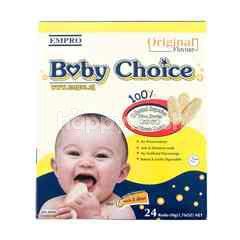 Baby Choice Biskuit Beras Original 6 Bulan Keatas 6 Bulan