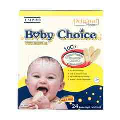 Empro Baby Choice Rice Rusks Original 6 Months Old & Above