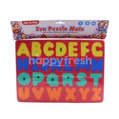Eva Alphabet Puzzle Mats