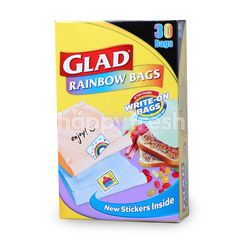 Glad Rainbow Bags 21cm x 15cm