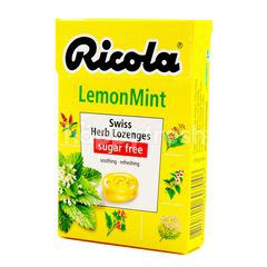 Ricola Swiss Herb Lemon Mint Candy