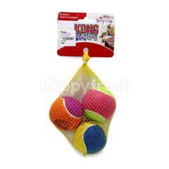 KONG Medium Birthday Air Squeaker Balls (3 Pieces)