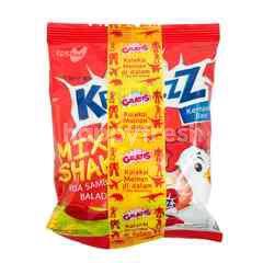 Mie Kremezz Mix & Shake Noodle Snack Sambal Balado