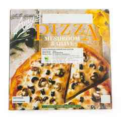 Amy's Mushroom and Olive Pizza