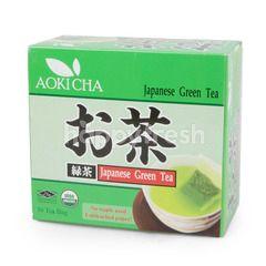 Aoki Cha Japanese Green Tea Organic (50 Tea Bags)