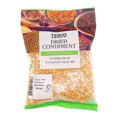 Tesco Dried Condiment Yellow Dhall