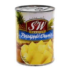 Sw Premium Pineapple Chunks In Syrup