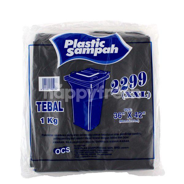 "OCS Garbage Plastic Bag 36"" X 42"""