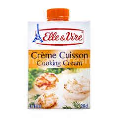 Elle & Vire Creme Cuisson Cooking Cream Cooking